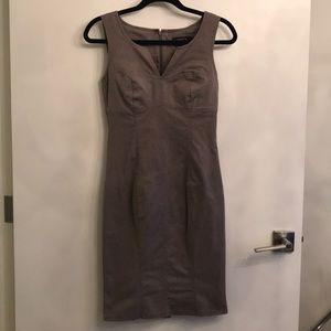 Arden b brown pencil dress